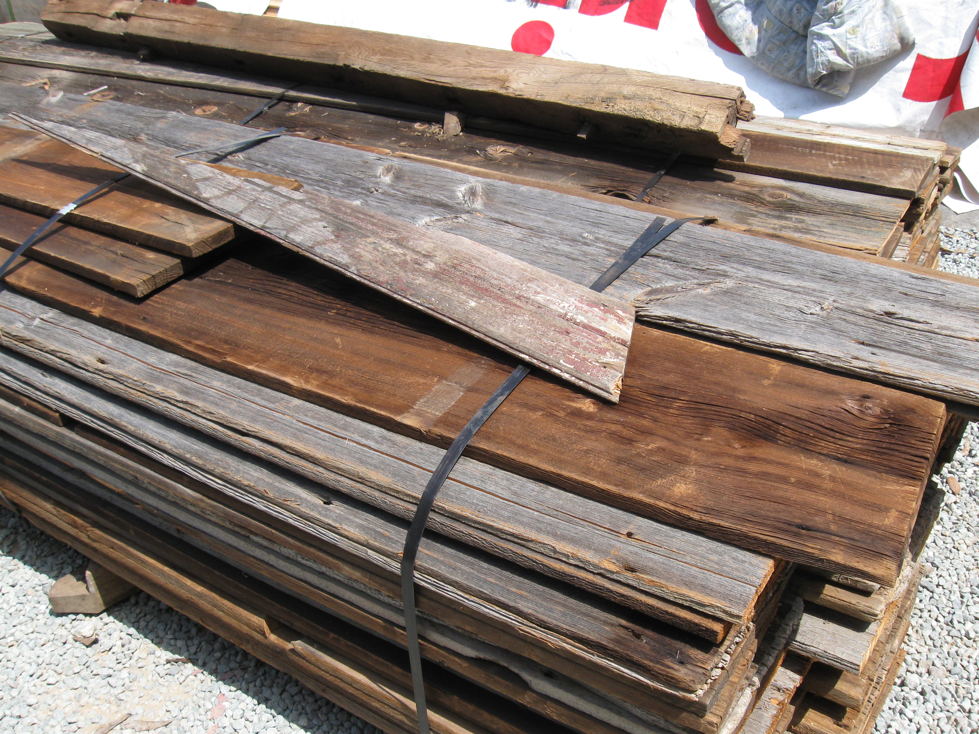 Salvage yard used building material reviews san diego for Reclaimed wood decking