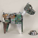 Reuse- Recycle E-Waste- Make Eco Sculptures