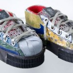 Reuse, Recycle Electronic Waste- Make Shoes