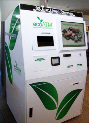 eco phone recycling machine
