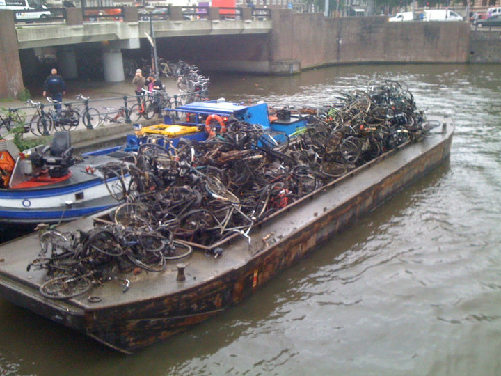 Bikes In Amsterdam Canals Where To Recycle Bicycles