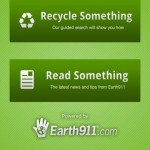 Earth911 Launches Free iRecycle App