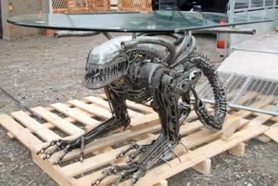 Made With Used Car Parts ...