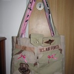 Re-Use, Re-cycle Military Uniforms- Make Purses