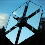 The Sunflower: A heliostat that can provide light to all the corners of your home