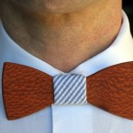 Well-Groomed And Eco: 10 Wood Bow Ties