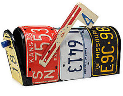 22 Examples of Upcycled Mailboxes