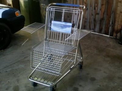 Shopping Cart A la Carte 21 Ways To Reuse Shopping Carts