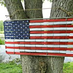 9 Up-cycled American Flags For Memorial Day