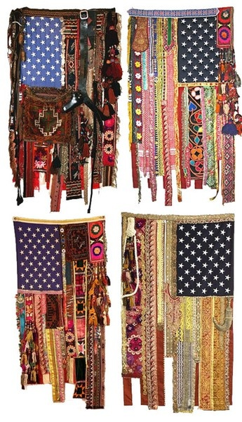 9 Up Cycled American Flags For Memorial Day