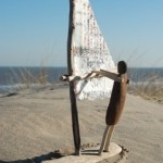 Driftwood and Beach Trash Artist Cleans The Beach And Recreates Art