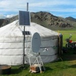 Over 70% of Mongolia's nomads have modernized their traditional tent homes with solar panels, improving their daily lives.