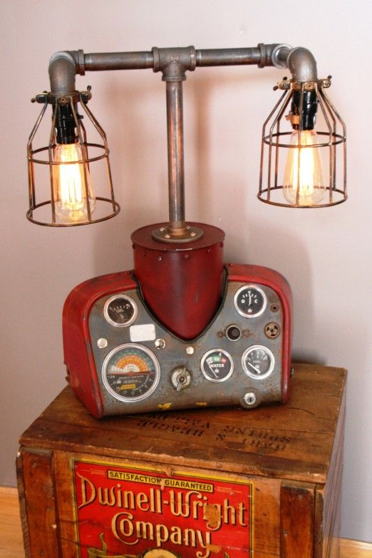 17 Upcycled Car Lamps