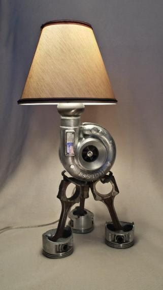17 upcycled car lamps green living