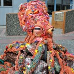 Massive Octopus Sculpture Created From Marine Litter