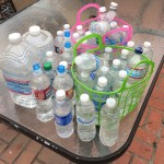 How Much Bottled Water Is Left On The Beach?