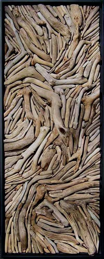 Ten works of driftwood art green living for How to work with driftwood