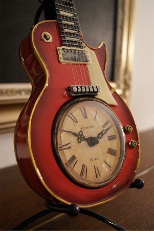 Reuse Guitar Clock