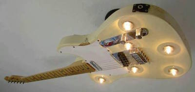 Reuse Guitar Lighting 2