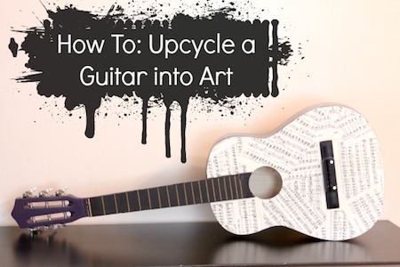 http://craftingagreenworld.com/2013/08/01/how-to-upcycle-a-guitar-into-art/