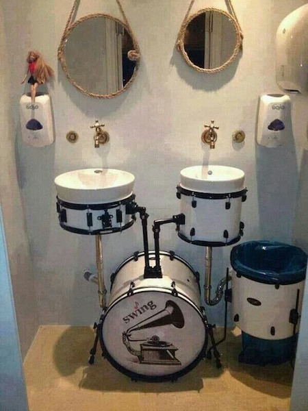 Reuse Drum- Bathroom