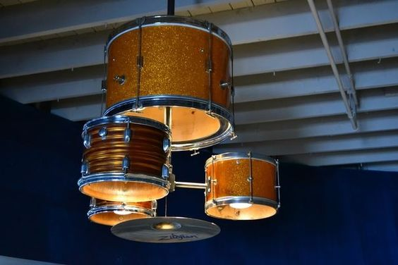 Reuse Drum Lamp 1