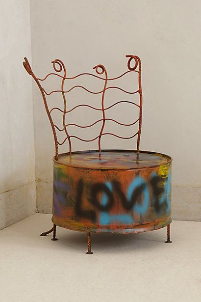 Drum Chair By Ajan Daeng
