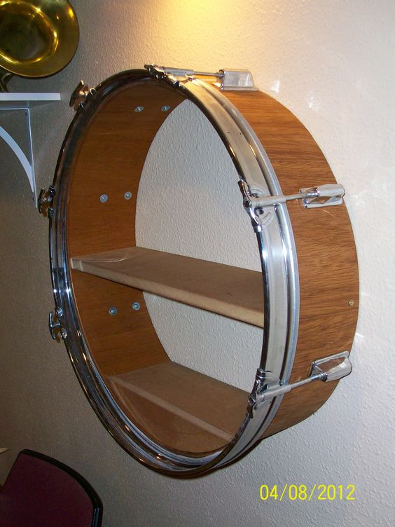 Reuse drum Shelf