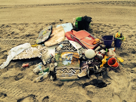 Beach Trash-Belmont park 2