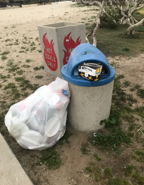 Overflowing Trash Cans A Sign Of Larger Problem